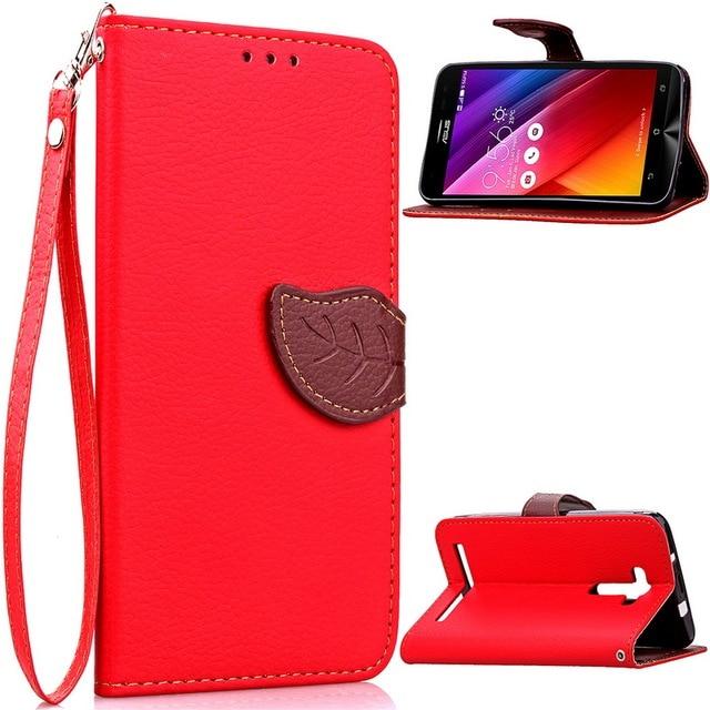 Luxury Case for Asus ZenFone 2 Laser 5.5 Case,Flip PU Leather Wallet Case for Asus Zenfone 2 Laser ZE550KL ZE551KL Z00LD Cover