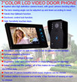 "Free shipping!Home Security 7"" Doorbell Door Phone Wired Intercom Monitor Camera Night Vision"