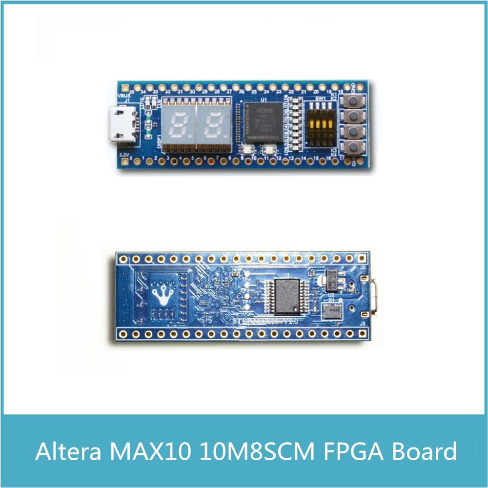 Altera Ep4ce6 Fpga Development Board Cyclone Iv Niosii Ep4ce Circuit Diagram To Interface Buzzer With Cpld Max10 10m08s Compatible Arduino Raspberry Pi