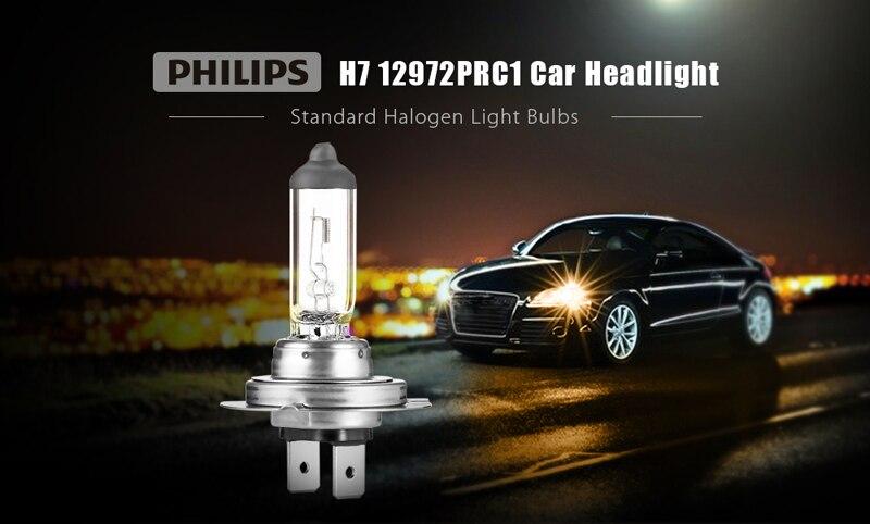 Halogen Light For Cars >> Philips H7 12v 55w Px26d Premium Vision Standard Car Headlight Original Bulbs Halogen Lamps Ece Approve 12972pr C1 1x