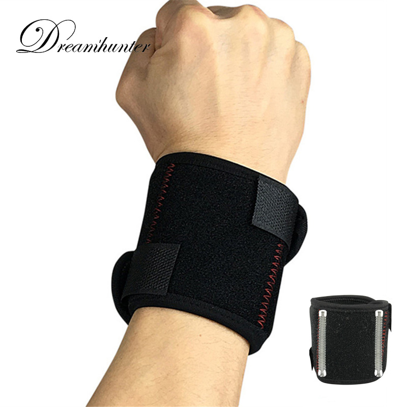 Compression Wrap Wrist Protectors Basketball Weightlifting Hand Bandage Strap Brace Wristband Professional Wrist Support