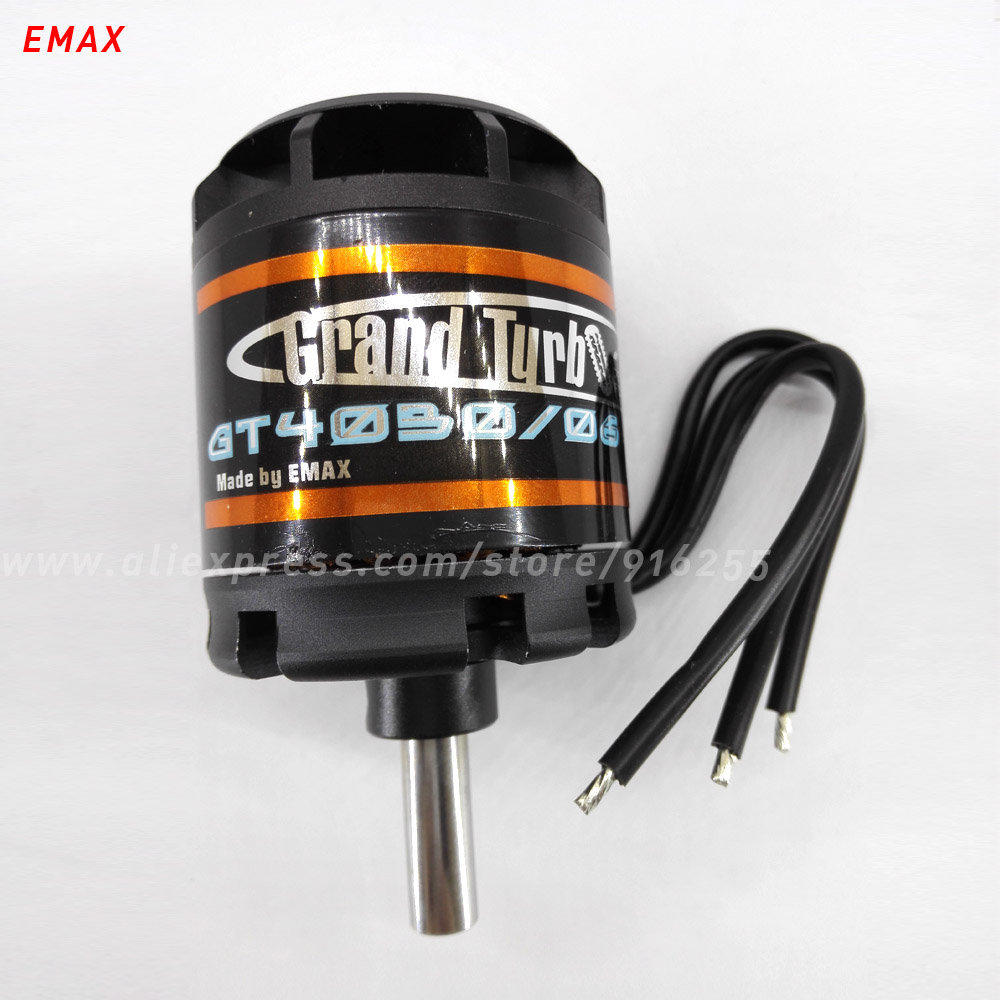 EMAX rc 420kv brushless motor airplane outrunner GT series 8mm shaft 5-6s for aircraft electric vehicle accessory 1pcs emax cf2805 2840kv outrunner brushless motor for rc airplane