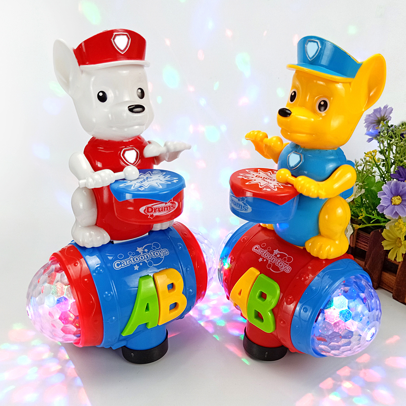 The Latest Electronic Pets Dancing Singing Electric Robot Dogs Playing Drums Cute Interactive Dog Toys For Kids