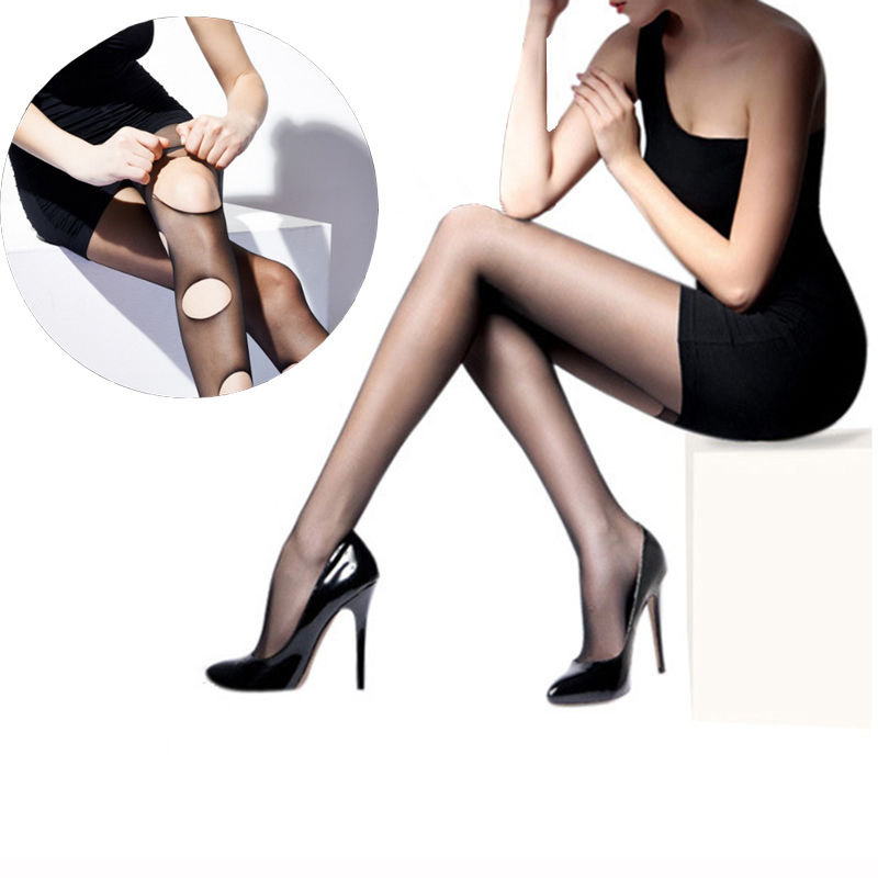 New Model Fashion Girl Ultrathin Prevent Hook Silk Any Cut Pantyhose Tights