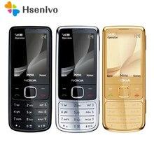 Teléfono Celular clásico Nokia 100% desbloqueado, GPS, 5MP, 6700c, teclado Inglés/Ruso/Árabe, 6700 Original, envío gratuito