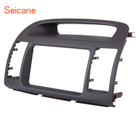 Seicane 2Din Car Radio Fascia DVD Stereo Frame Refitting Cover Trim Kit Panel For TOYOTA CAMRY 2000 2001 2002 2003