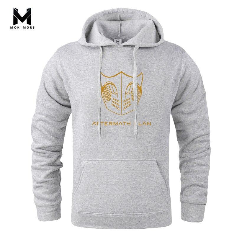 Bodybuilding Sweatshirts Clothing Men Hoodies Fashion Casual Top-Quality MOK Gyms Male