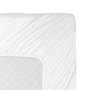 Image 5 - Soft Satin Silk Fitted Sheet Pillowcase Bedding Set American Style 3/4Pcs Bed Linens Twin Full Queen Size Bedding Sets