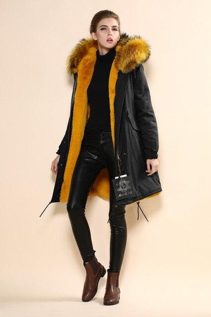 2016 new arrival women winter faux fur parka coat mr and mrs fur ...