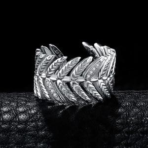 Image 3 - JewelryPalace 포장 큐빅 지르코니아 선조 잎 조정 가능한 열기 반지 925 스털링 실버 여성을위한 새로운 트렌디 한 반지 파인 쥬얼리