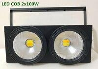 2 глаза монолитный блок светодиодов 2X100 Вт теплый белый освещение для дискотеки KTV партии Бесплатная доставка