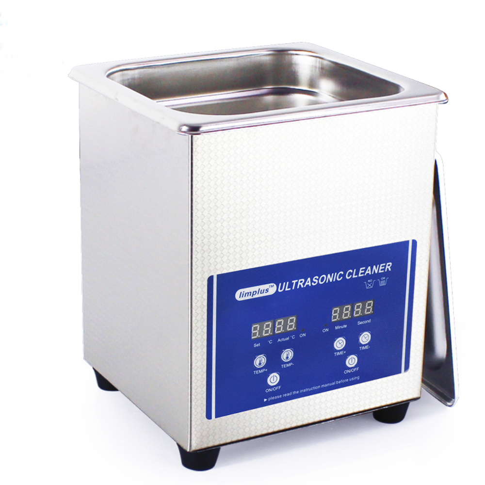 Free Shipping 2L 0.5gallon 60W Digital Ultrasonic Bath Ultrasound Cleaner Stainess Steel Household free shipping 110v 220v k 105 0 6l digital ultrasonic bath small cleaner