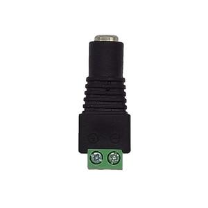 Image 5 - Evolylcam 5 Mannelijke + 5 Vrouwelijke BNC Connector Professionele DC Power converter/DC Plug Adapter voor CCTV Camera Systeem accessoires