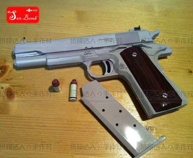 Paper Death Weaponry « Papercraft :: WonderHowTo | 557x680