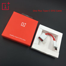 Original OnePlus Type-C OTG Cable Converter Data Line Adapter Support Pen Drive/U DISk/Mouse/Game handle for 1+ 3 3T 5 6(China)