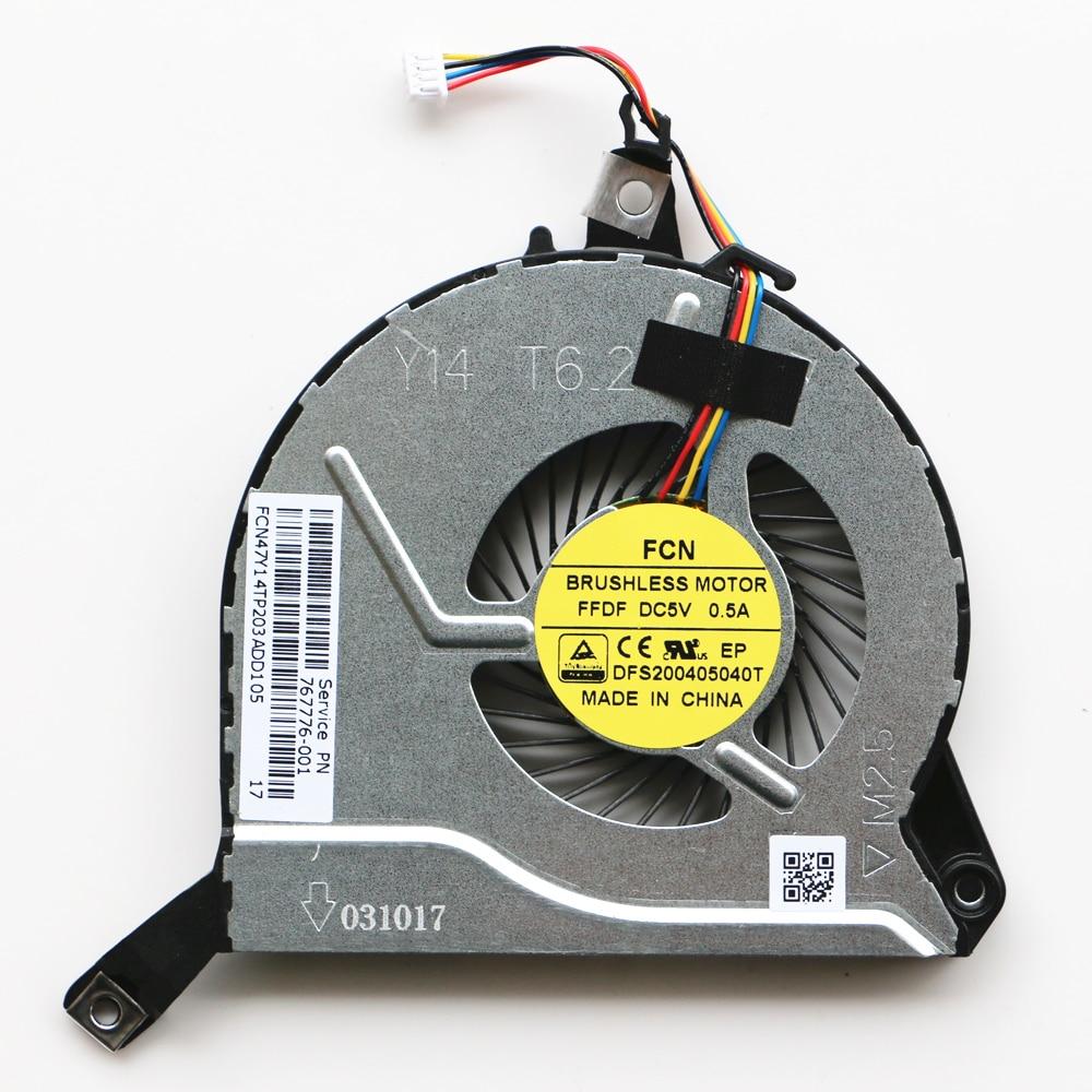 New Original For HP Pavilion 15-p010ns 15-p011ns 15-p012ns 15-p014ns 15-p015ns Cpu Cooling Fan