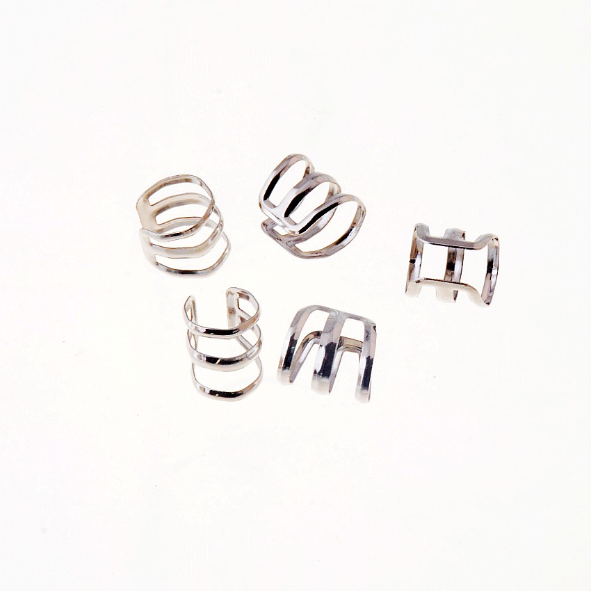 Free Shipping 20pcs Silver Tone Clip On Earring Finding DIY 12x12x11mm Jewelry Findings Wholesale
