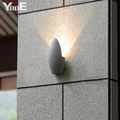 Indoor  Outdoor 5W COB LED Wall Lamp AC110V/220V  Decorate proof water IP54 sconce Warm White  Light Free shipping