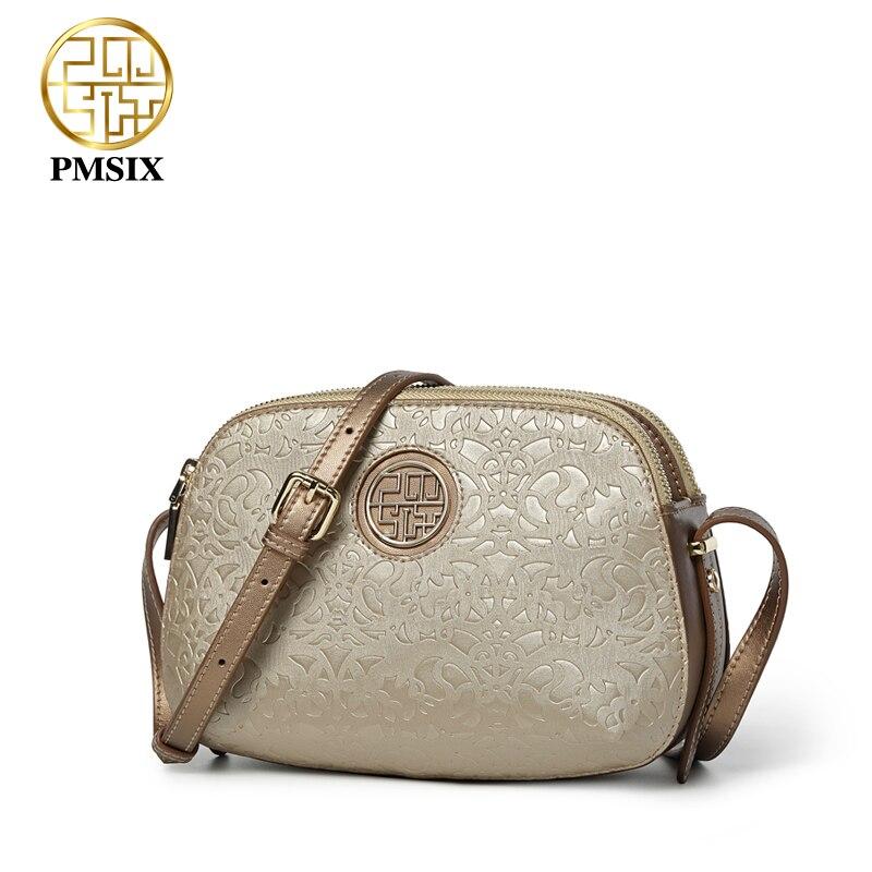 Pmsix ใหม่หรูหราผู้หญิงไหล่กระเป๋า crossbody กระเป๋าสำหรับสุภาพสตรีสีแดง/สีม่วงขนาดเล็ก PU messenger กระเป๋า soft คุณภาพ-ใน กระเป๋าหูหิ้วด้านบน จาก สัมภาระและกระเป๋า บน   3