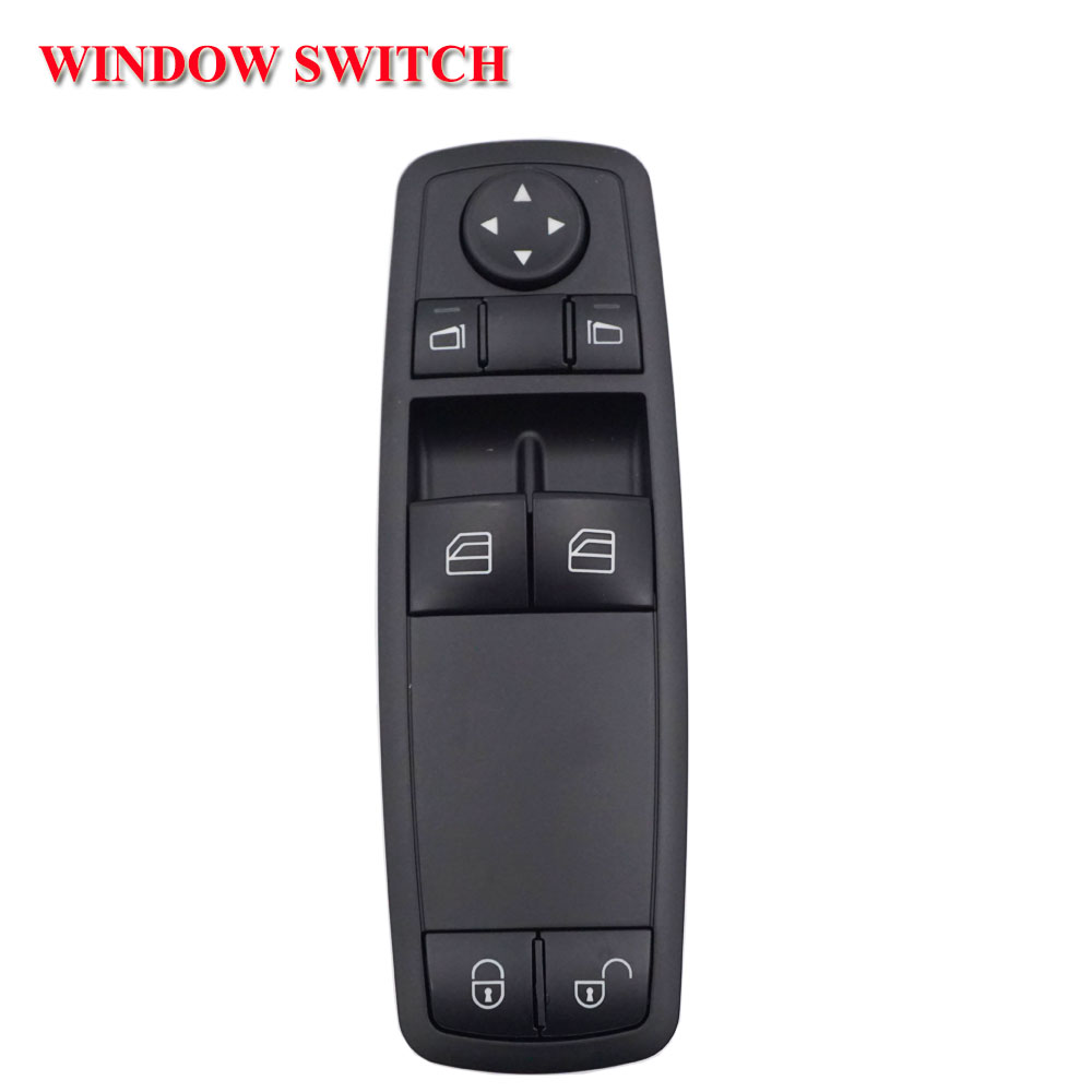 1698206410 Window Regulator Switch Left Front For <font><b>Mercedes</b></font> Benz <font><b>W169</b></font> <font><b>A170</b></font> A200 05-09 New 1698206410 A1698206410 image