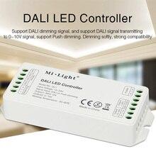 MiBOXER DALI LED strip Controller DL1 DC12V-24V Max 12A DALI Dimming Signal/Push dimming led strip light dimmer dali signal led dimmer 350ma fluorescent constant current high voltage ac110 240 led dali dimming controller