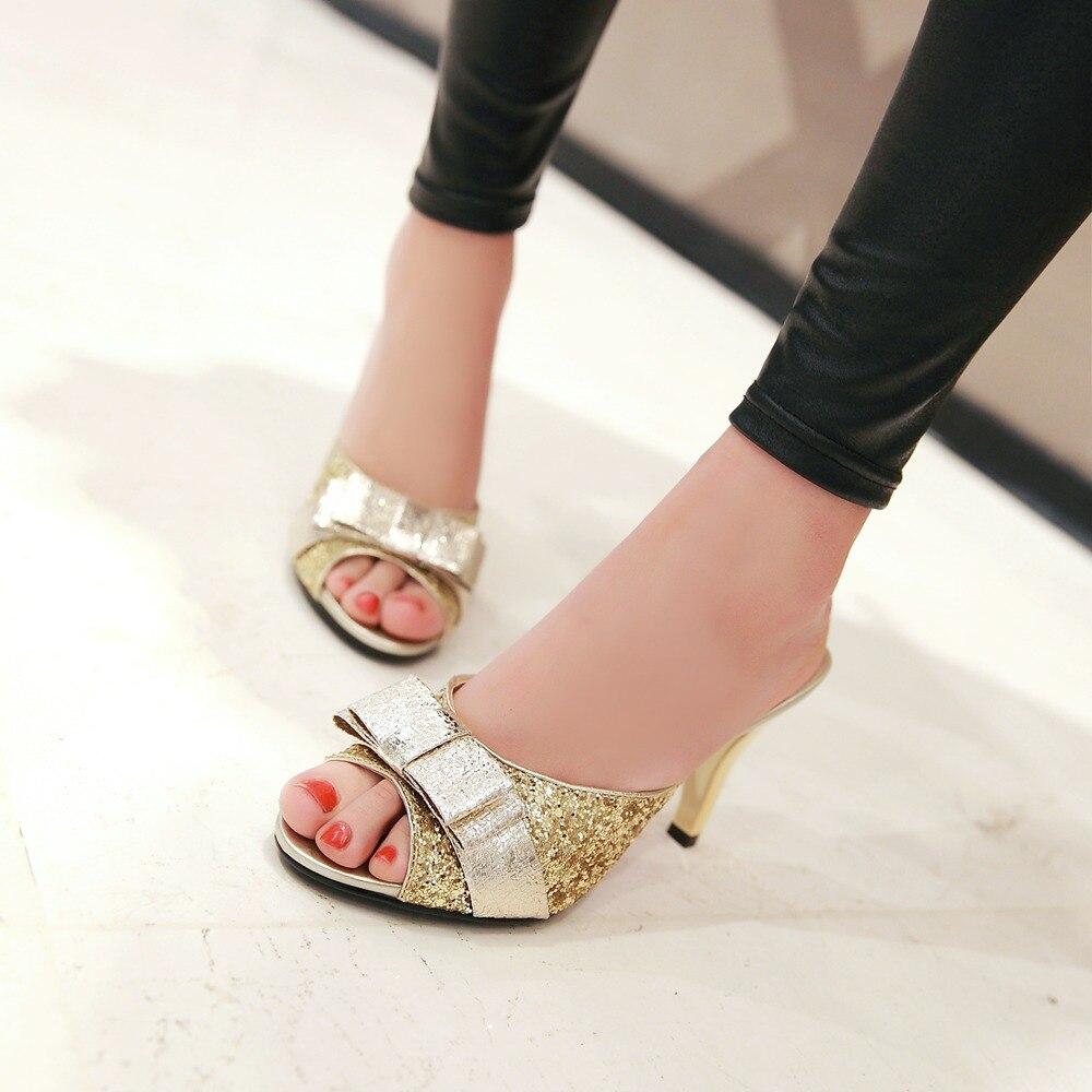 Kitten Heel Slippers - Is Heel