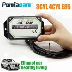 Kit de Conversion E85 3CYL 4CYL | kit d'éthanol pour la voiture, accessoires de modification de l'essence E85 pour EV1,EV6,Delphi