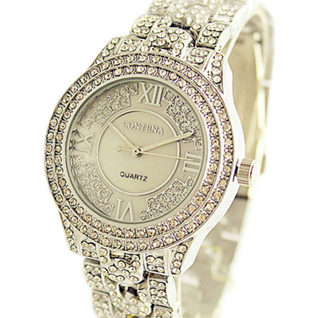 2019 New Luxury Women Watch Famous Brand Silver Fashion Design Bracelet Watches