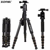ZOMEI Z699C Carbon Fiber Portable Professional Tripod Ball Head Compact Travel For Canon Sony Nikon Olympus