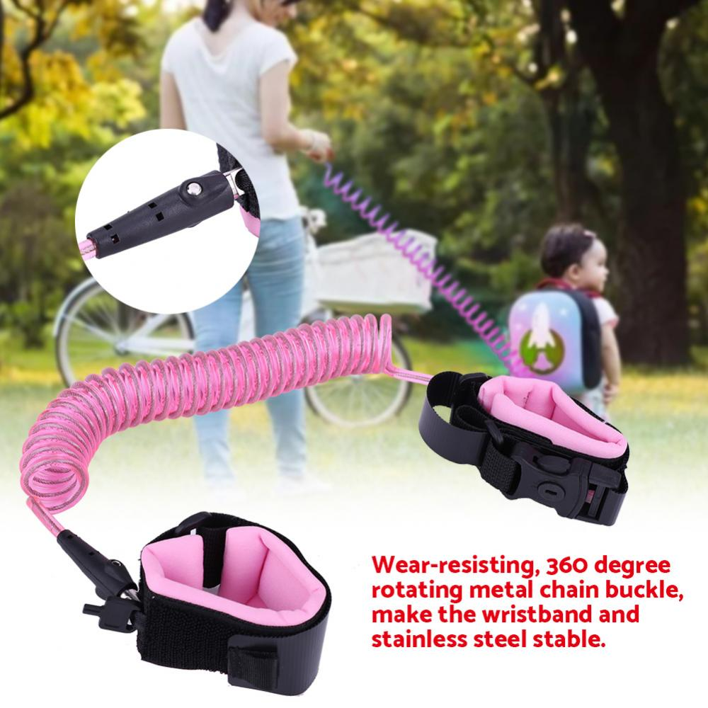 2.5m Anti-Lost Wrist Link Safety Harness Leash Strap for Kids Children Baby