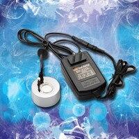 Umidificador de incubadora industrial  20mm nebulizador ultrassônico para fonte de água umidificador de ar atomizador com adaptador AC-DC