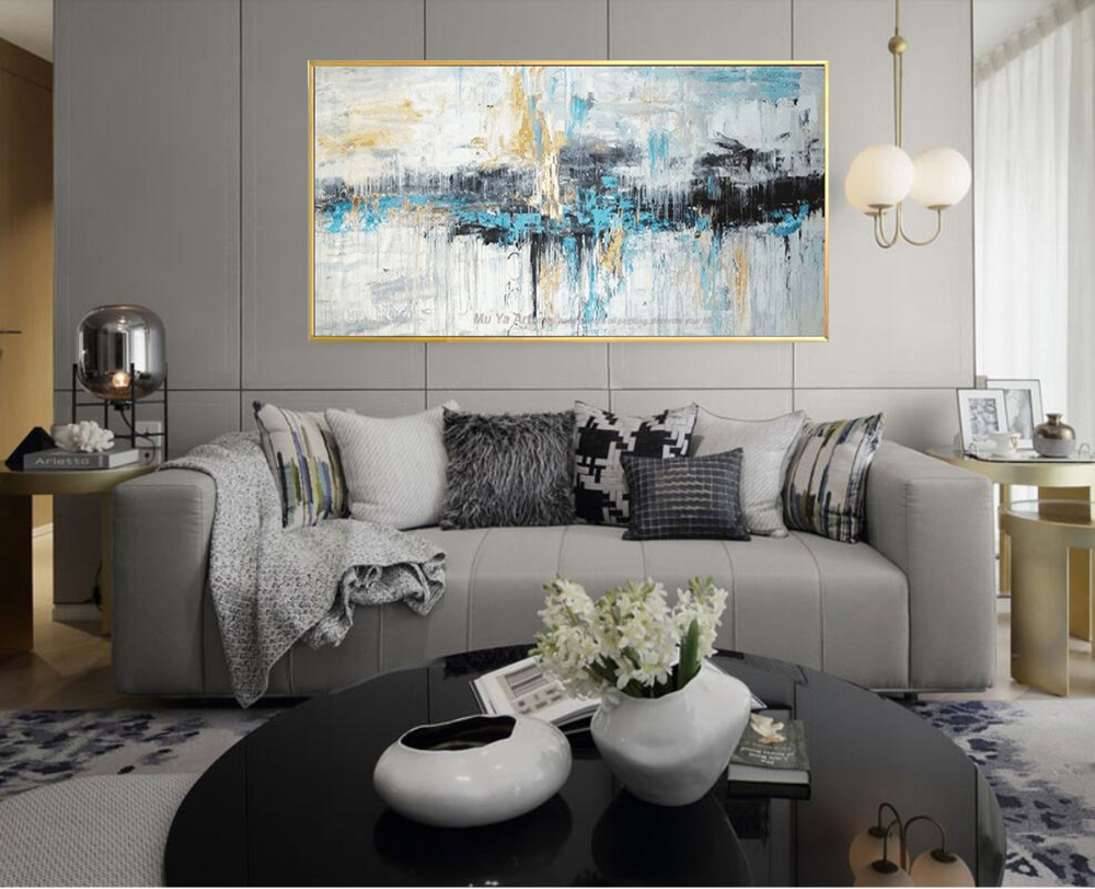Product Name: Abstract Art Painting Modern Wall Art Canvas Pictures Large  Wall Paintings Handmade Oil Painting For Living Room Wall Decor Art