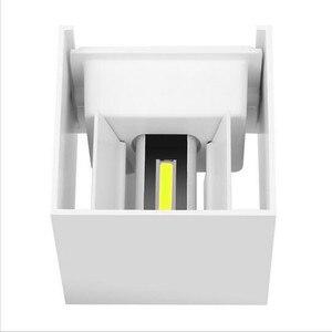 Image 3 - Luminária led de 6w 9w 12w, para áreas internas e externas, à prova d água, ip65, para parede, sensor de movimento radar, varanda arandela de decoração de casa iluminação