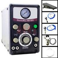 Новый Graver Макс G8 Jewelry пневматический ударный гравировальный станок GRS гравировки Системы с 2 наконечники ювелирные изделия гравер