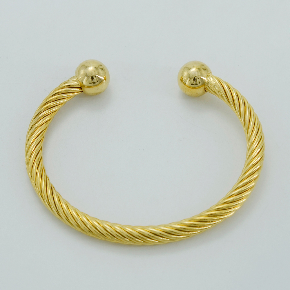 Anniyo Openable Twisted Bangle Women Gold Color Dubai Ethiopian Jewelry Arab Husband Boyfriend Gift 001910 In Bangles From Accessories On