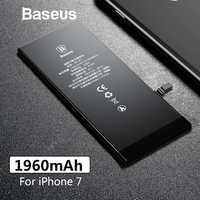 Baseus 1960mAh Original Phone Battery For iPhone 7 High Capacity Replacement Batteries For iPhone 7 with Free Repair Tools