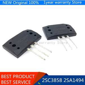 5Pairs 2SA1494 2SC3858 MT-200 Silicon NPN + PNP Audio amplifier transistor