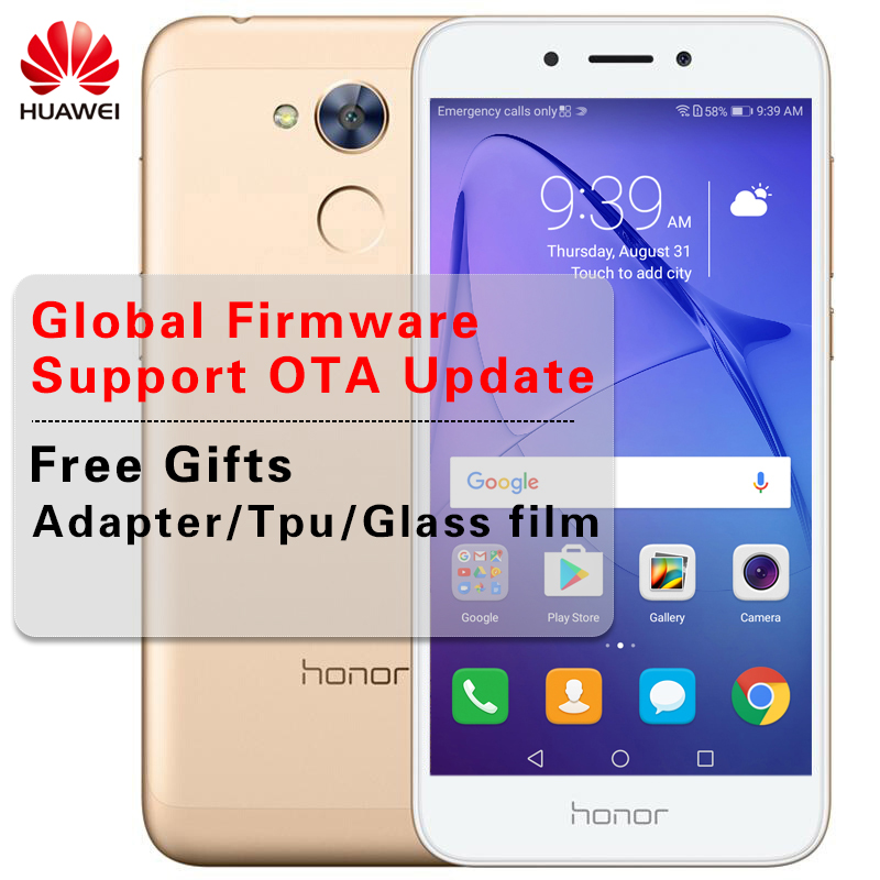 """Быстрая доставка в исходном huawei Honor 6A играть 5,0 """"Octa Core Snapdragon 430 Android 7,0 отпечатков пальцев телефон Dual SIM 13MP 3020 мАч"""