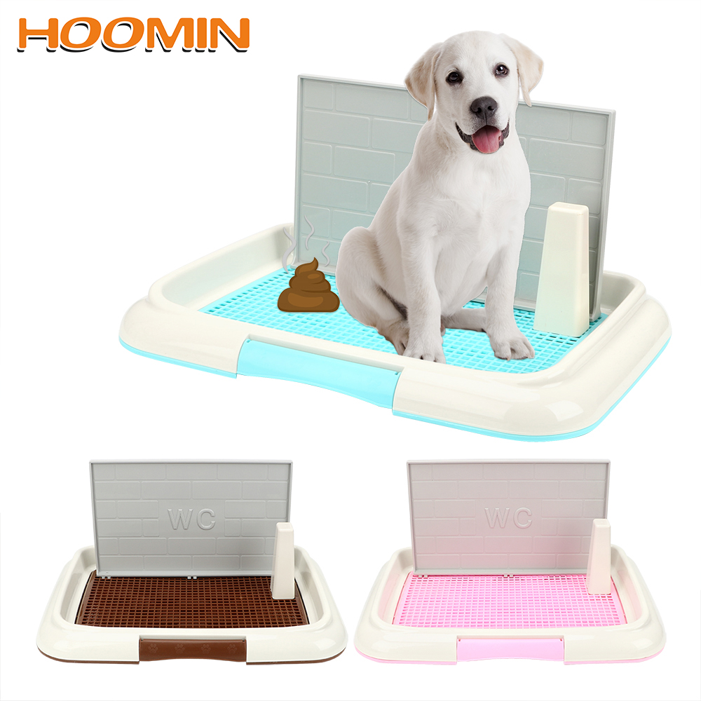 Lattice Dog Toilet Potty Puppy Litter Tray Pee Training Bedpan Toilet Easy To Clean Pet Toilet Pet Product