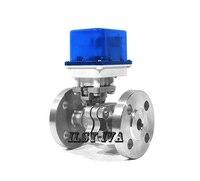 G1/2 flange stainless steel motorized ball valve,DN15 DC12V/24V