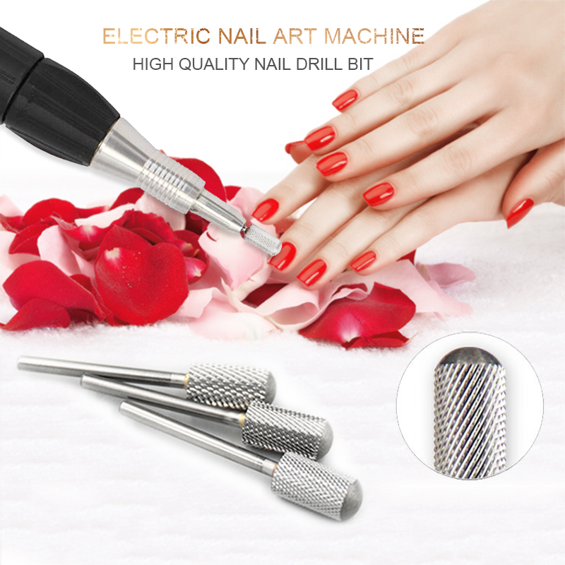 KADS Alloy Nail Art Drill Bits For Electric Nail Drill Manicure Machine Accessories Nail Art Tools Pedicure Cutter Machine victool carbide drill nail bits universal grit for electric nail files machine electric manicure pedicure bit nail art tools 17
