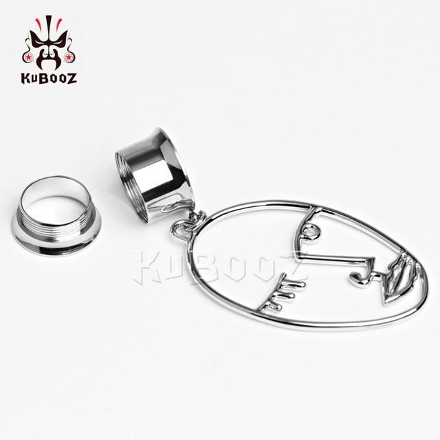 Купить kubooz ювелирные изделия для пирсинга тела ушные туннели с заглушками