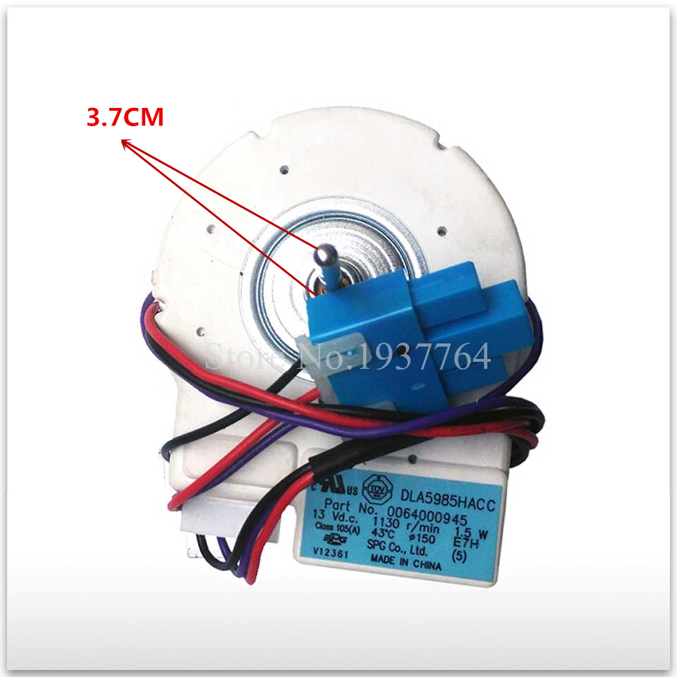 100% new for good working High-quality for Refrigerator motor freezer motor BCD-518WS 0064000945 for refrigerator freezer zwf 02 2 12v dc refrigerator fan motor