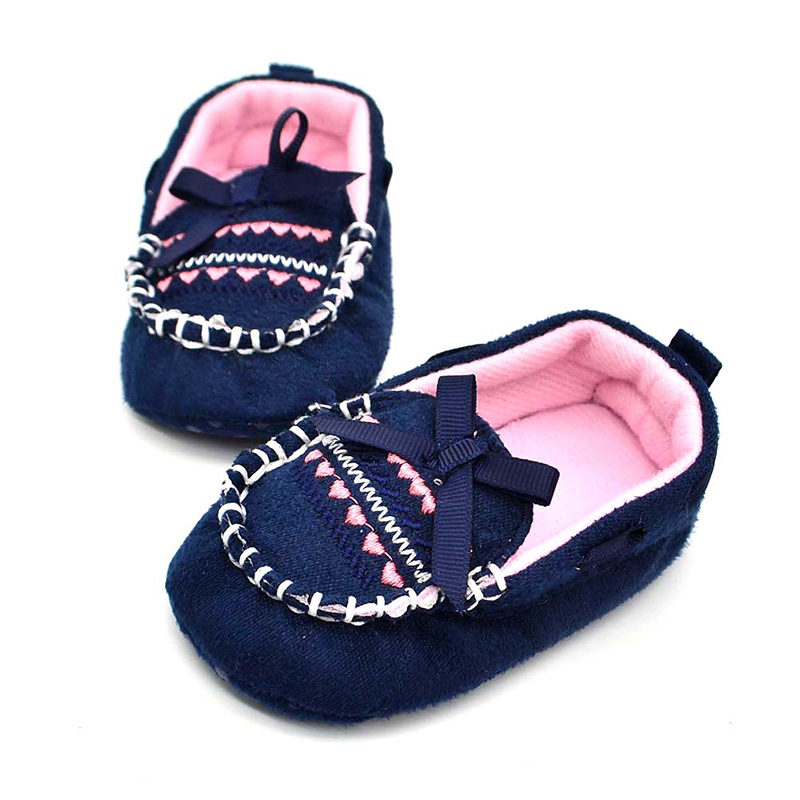 Brown-Baby-First-Walkers-Shoes-Soft-Newborn-Cotton-Bow-knot-Shoes-2