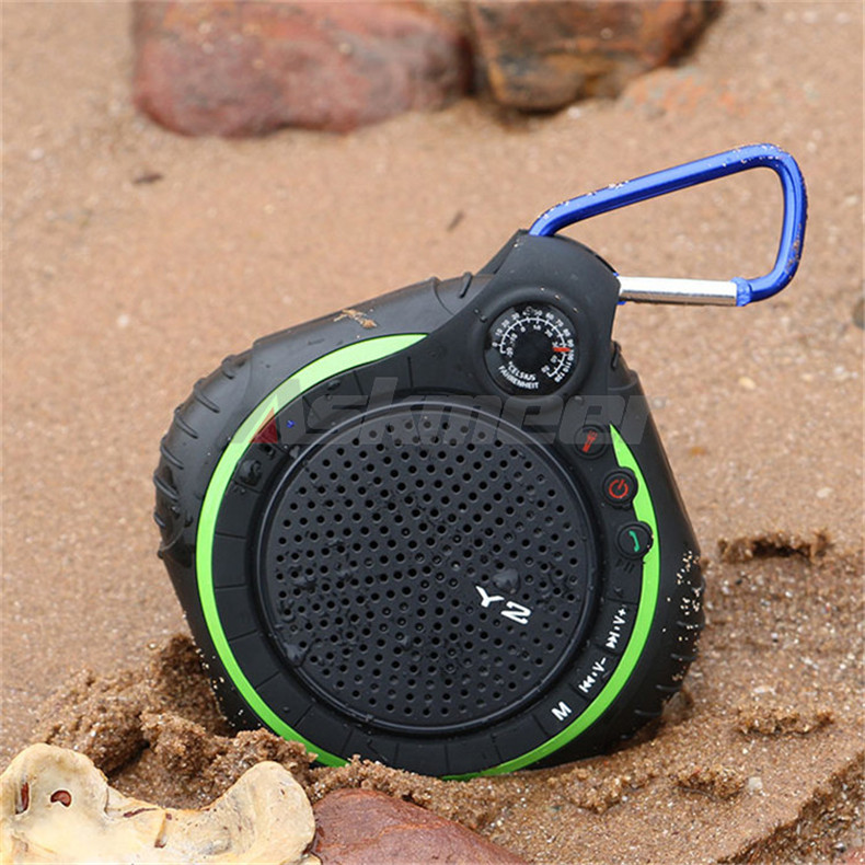 Y2 Wireless Bluetooth Speaker With Microphone Waterproof IPX5 Outdoor Sport Loudspeakers Soundbox Support TF Card