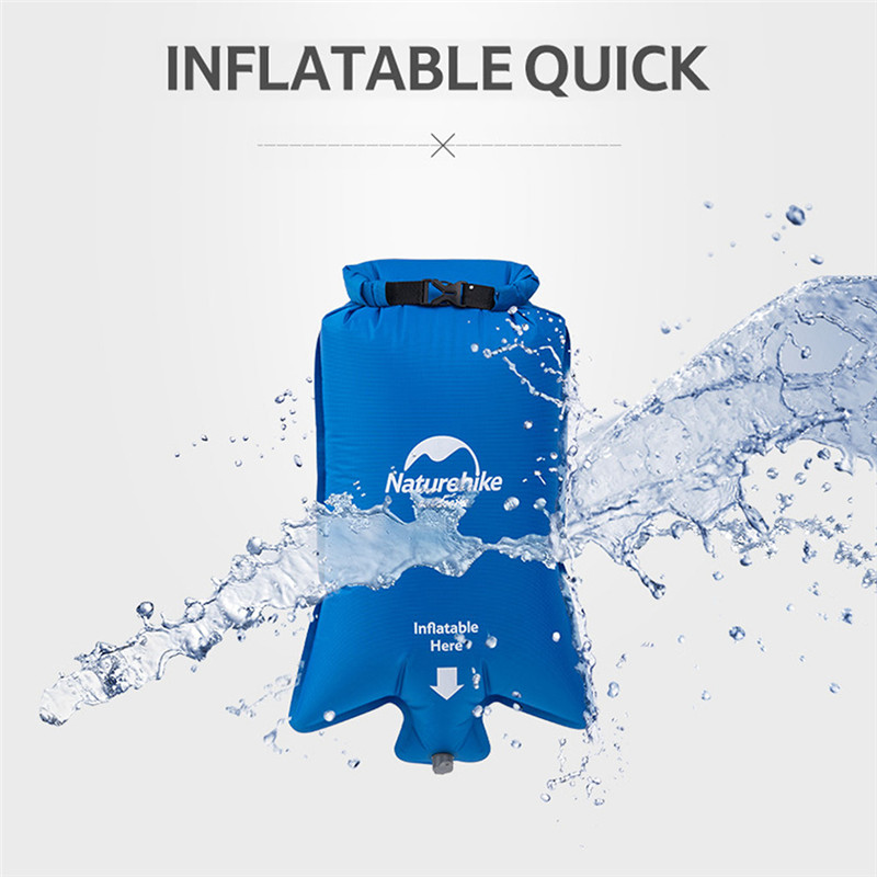Image 5 - Naturehike Waterproof Inflatable Cushion Universal Air Bag Portable Easy Inflatable Bag Moisture proof Picnic Cushion Air bags-in Air Mattresses from Sports & Entertainment
