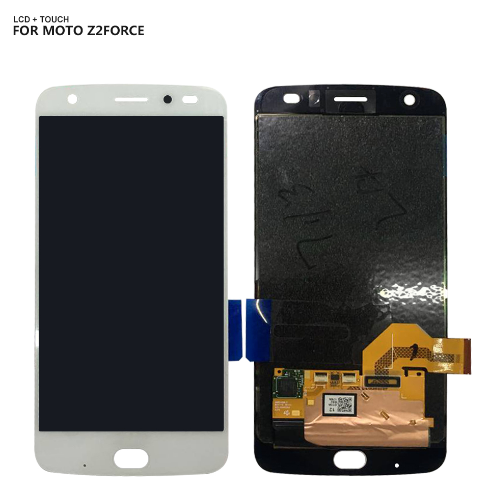 6.0 LCD Display For Motorola Moto Z2 Force XT1789 LCD Display Touch Screen Digitizer  Assembly For Motorola Moto Z2 Force LCD6.0 LCD Display For Motorola Moto Z2 Force XT1789 LCD Display Touch Screen Digitizer  Assembly For Motorola Moto Z2 Force LCD