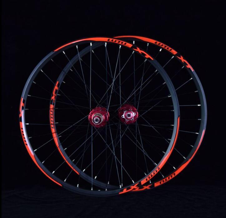 MTB mountain bike sealed bearing 24 inch wheels double rim high strong wheelset