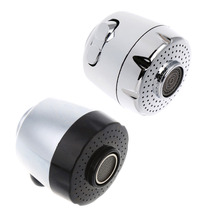 HNGCHOIGE New 22mm Faucet Nozzle Aerator Bubbler Sprayer Water-saving Tap Filter Two Modes  Black/Silver Color стоимость