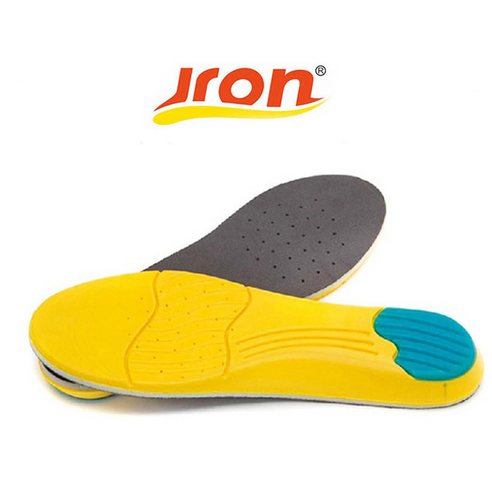 Jron PU Memory Foam Insoles, Breathable Orthotic Arch Sport Basketball Running Sports Insole for Shoe Shock Absorption Women arch supports insoles for shoes sport breathable eva insoles breathable foot pads massage sport shoe insole xd 085